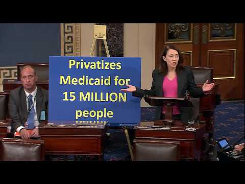 Cantwell Blasts Latest Trumpcare Bill to Strip Millions of Americans of Health Insurance