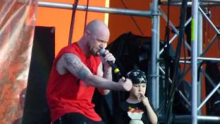 Five Finger Death Punch - Remember Everything - Live 5-24-14 River City Rockfest