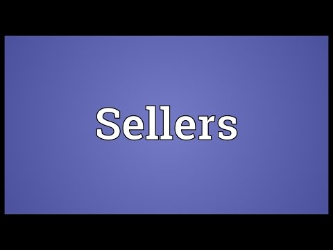 Sellers Meaning