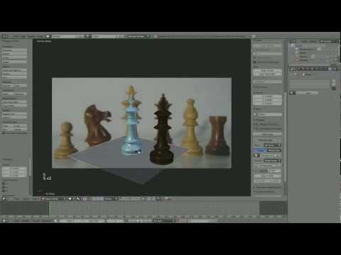 How To: Blender 2.6 e003 P2 - Speed Modelling a Chess Piece