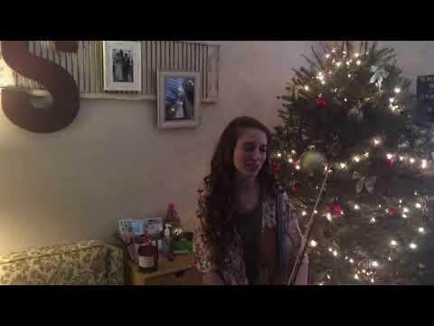 """Winter Wonderland"" Violin   12 Days of Christmas"