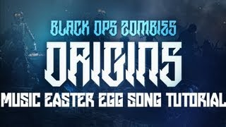 "Black Ops 2 ""ORIGINS"" Zombies - ""Archangel"" Music EASTER EGG Song Tutorial! Featuring Elena Siegman!"