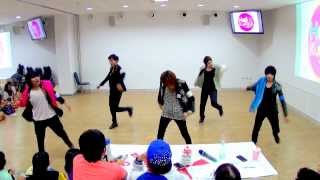130923 BabyBlue cover SHINee - Sherlock @Hello! Korea by MBK & iTeen (Audition)