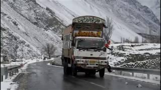Heavy Snow fall in Gilgit Baltistan
