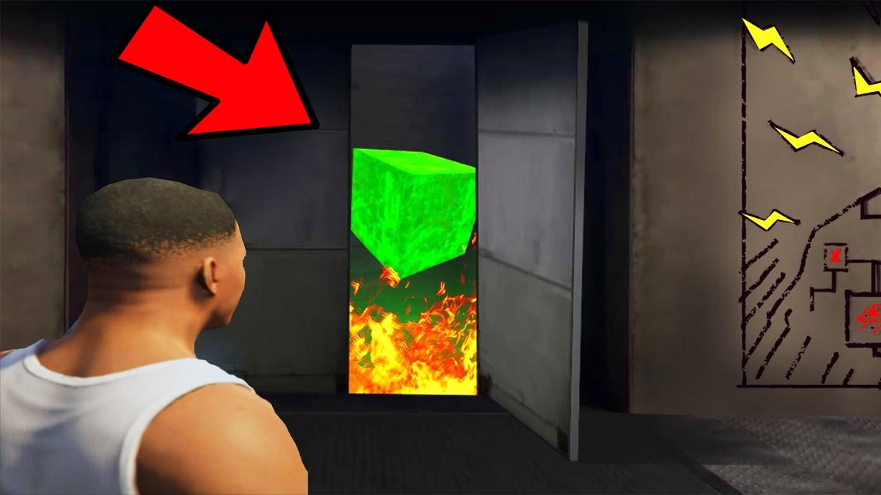Secret Door Inside Mount Chiliad OPENED! (GTA 5)   YouTube