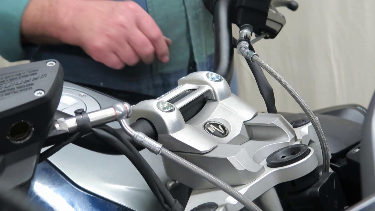 BMW R1200RT / R1250RT LC Handlebar Slide Adjust  frm MV