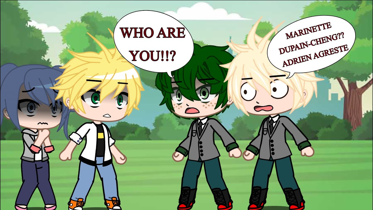 Download || Mha meets Ladybug and Chat Noir || 14k Subs Special || Paper.Jupiter ||