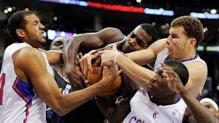 Самые жесткие моменты борьбы за мяч в баскетболе