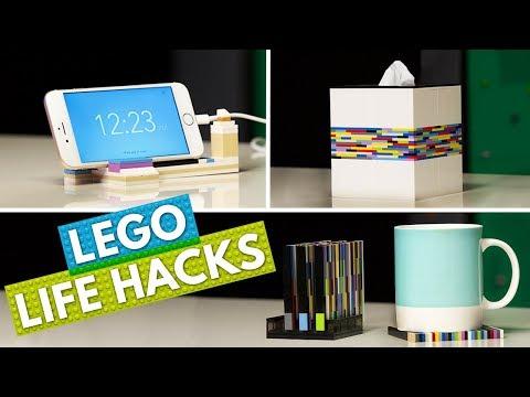 5 LEGO Life Hacks To Make Your Life Easier | Brick X Brick