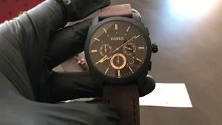 Reloj FOSSIL FS5251 SET - UNBOXING FOSSIL Watch SET FS5251 (Regaloj)