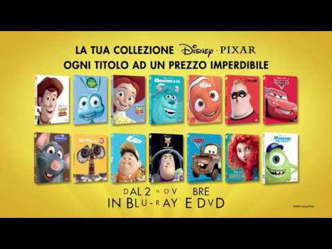La collezione Disney Pixar - Dal 2 Novembre in Blu-ray e DVD