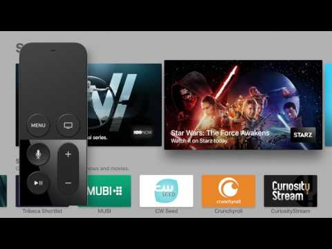 Apple TV New TV App   tvOS 10.1 Overview