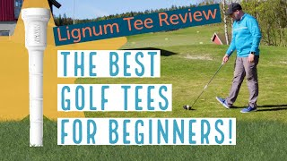 The BEST golf tees for beginners - Lignum Tee review