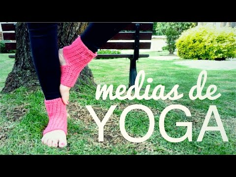 MEDIAS DE YOGA a crochet (ENGLISH SUB) | tutorial paso a paso AHUYAMA CROCHET