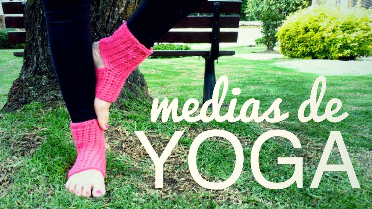 MEDIAS DE YOGA a crochet (ENGLISH SUB) | tutorial paso a paso ...