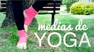 CROCHET YOGA SOCKS | step by step tutorial