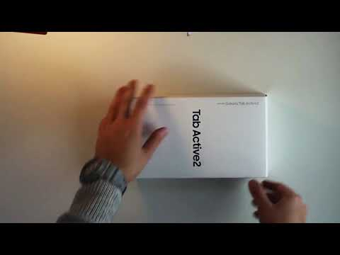 Samsung Galaxy Tab Active2 T395 unboxing (cc) Mp3