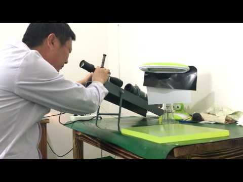 DISCOVERY rifle scope impact test in factory
