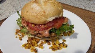 Обрусевший чикенбургер