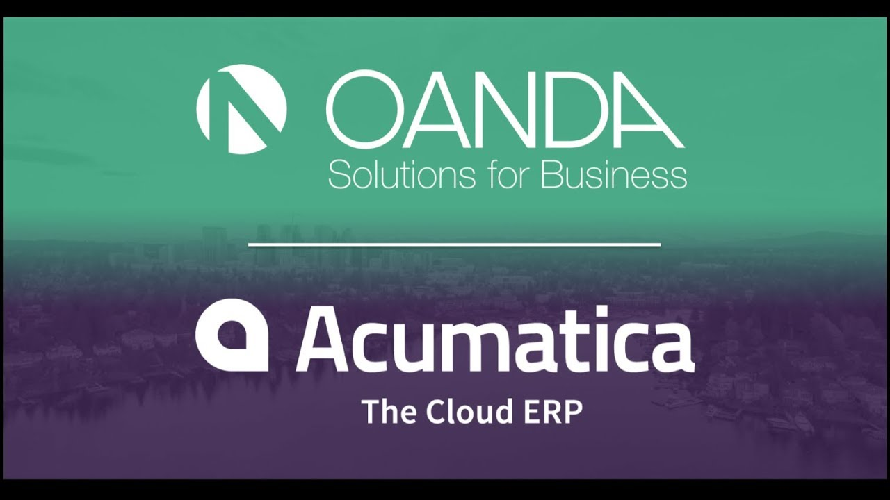 Oanda Exchange Rates Api On Aatica Cloud Erp