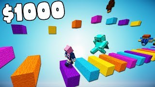 First Youtuber to WIN the Parkour gets $1000