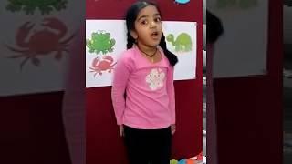 #Preschool children speaking about Aquatic Animals - Oi Playschool