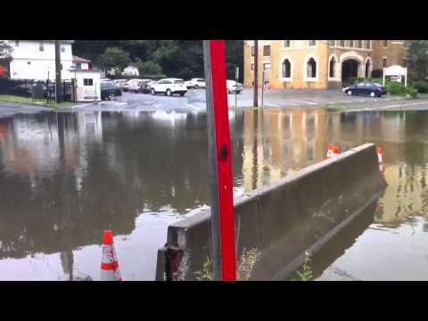 Following Hurricane Irene, Tuckahoe suffered severe flooding.