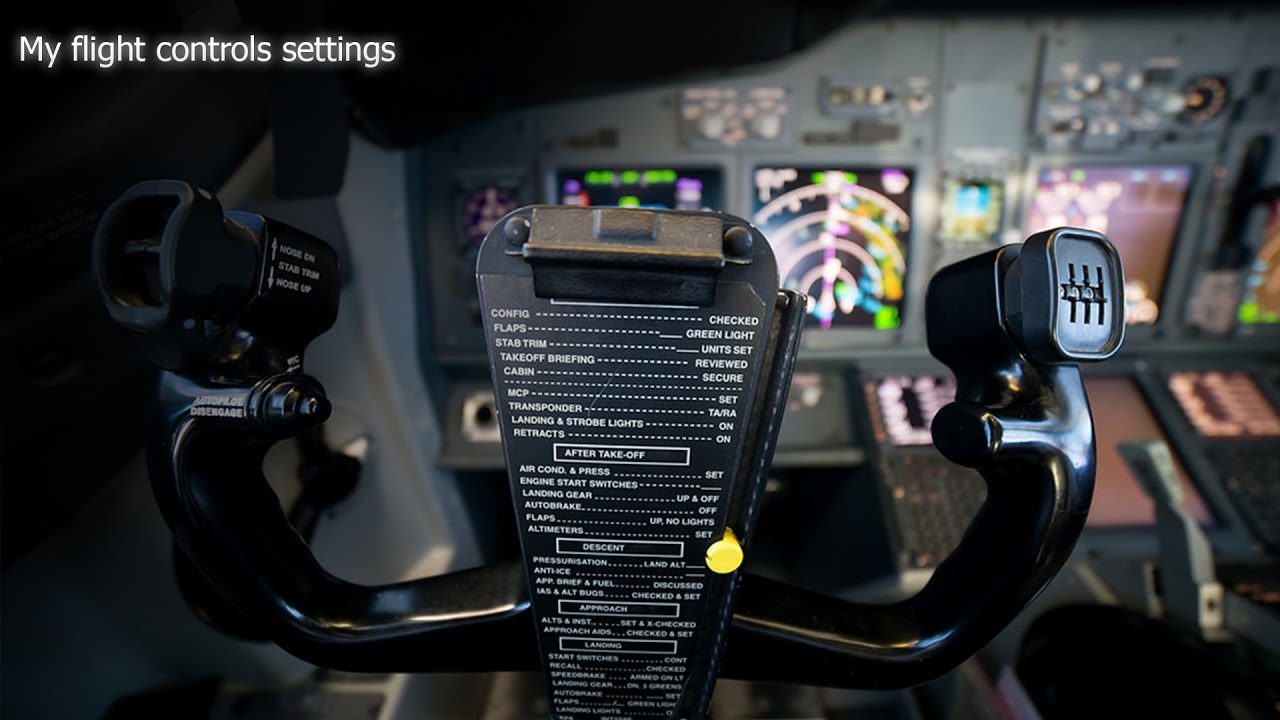 My P3D flight controlls settings  Mouse
