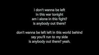 Is Anybody Out There - K'Naan Ft Nelly Furtado  Lyrics