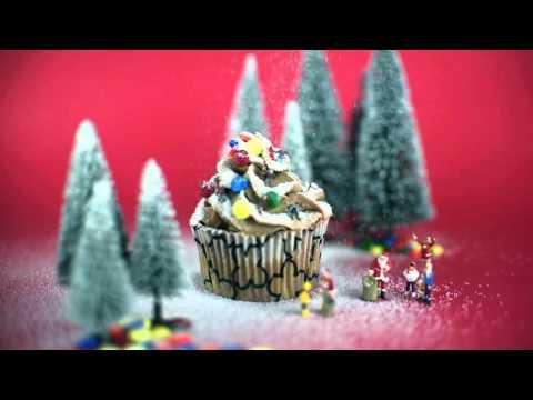 Christmas Cupcake (Como tartas para chocolate)