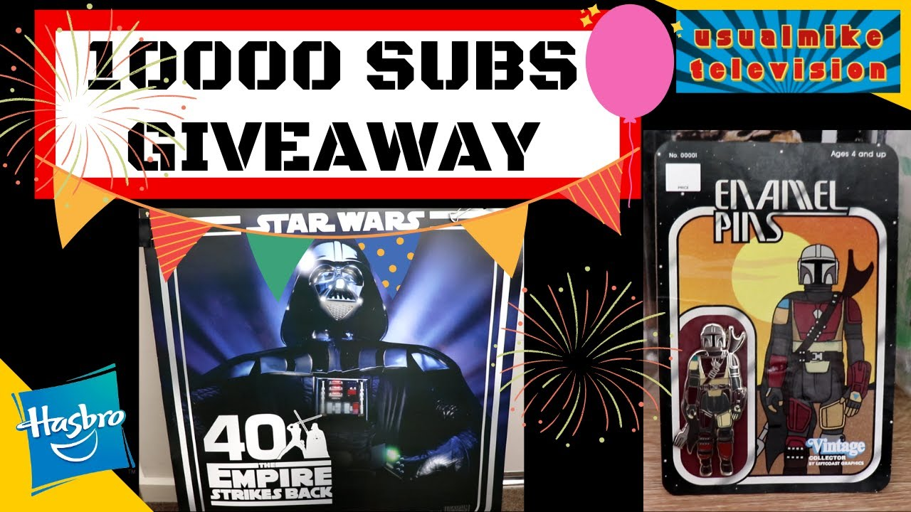 10000 SUBSCRIBER GIVEAWAY VIDEO WATCH THIS TO WIN! USUALMIKE TELEVISION HAS PRIZES FOR YOU!