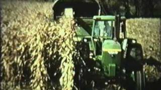 Corn Harvest On Neldell Farms 1978