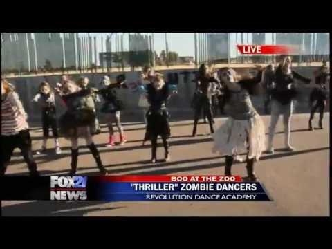Revolution Dance Academy performs 'Thriller' (1)