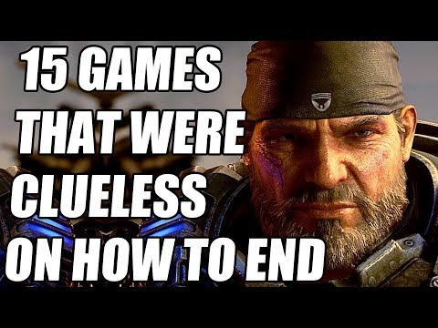 15 Video Games That Were Clueless On How To End