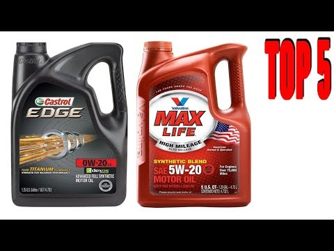Top 5 Best Synthetic Oils To Buy in 2018