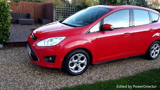 Video Review of 2013 Ford Cmax For Sale SDSC Specialist Cars Cambridge UK