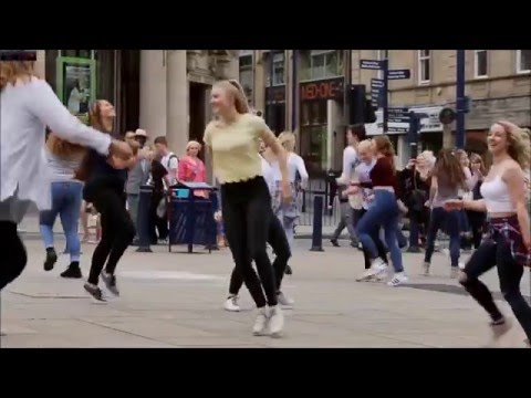 real love flash mob hd 2015