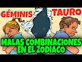 los signos mas incompatibles del zodiaco - YouTube