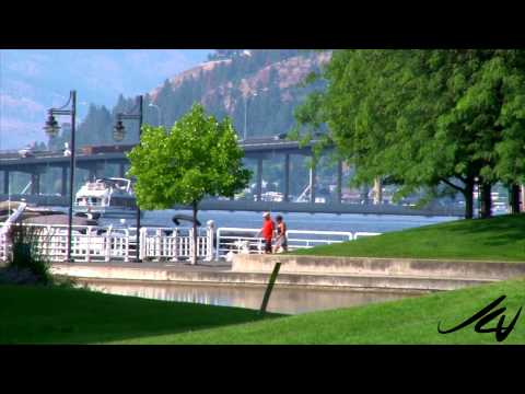 Kelowna British Columbia July 2014 -  Hot Summer Days -  YouTube