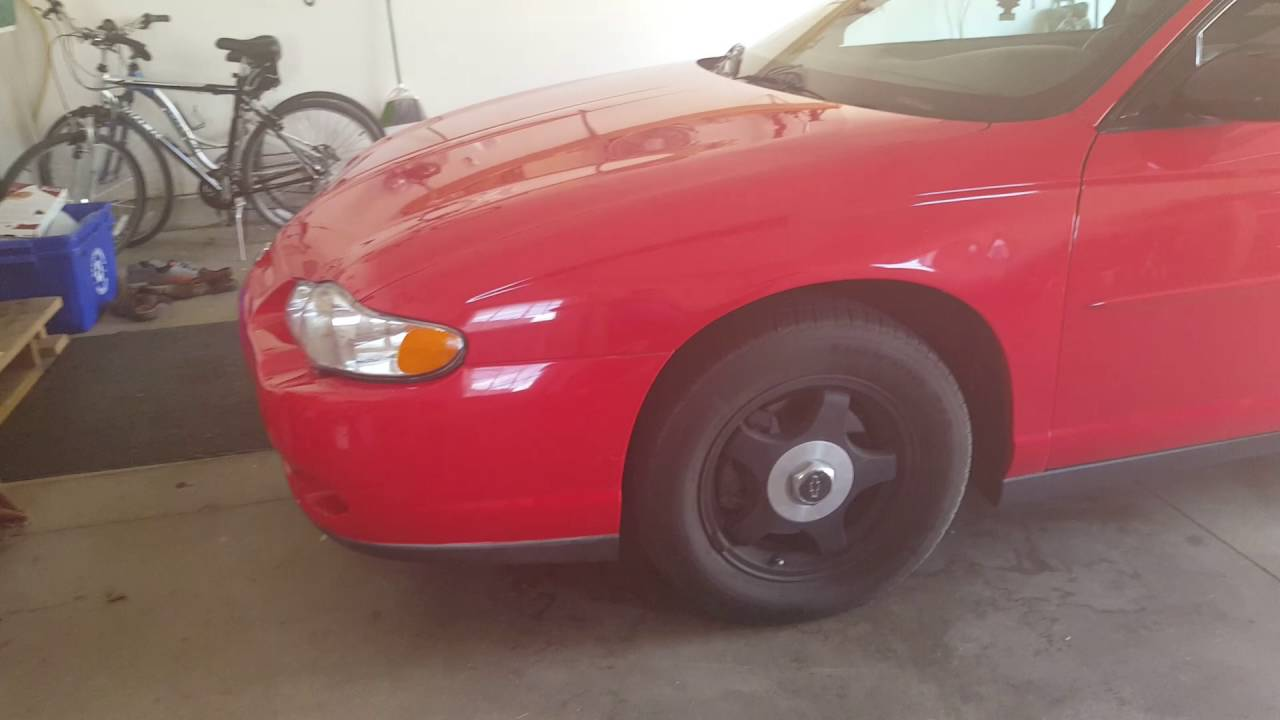 2001 Monte Carlo Update Black Spoiler Tint Taillights Rims Check It Out