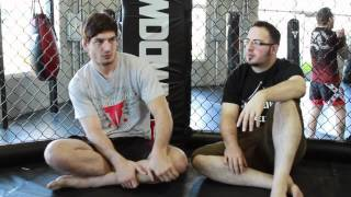 Pro Mixed Martial Artist Cameron Diffley's Interview and Fighter Bio