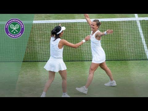 Barbora Strycova/Su-Wei Hsieh vs Gabriela Dabrowski/Yifan Xu Wimbledon 2019 final highlights