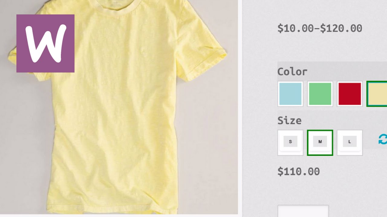How To Add Product Variations in WooCommerce