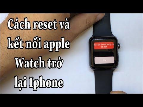 - Cách Reset Mật Khẩu Và Kết Nối Lại Với Iphone Của Apple Watch Serie 3