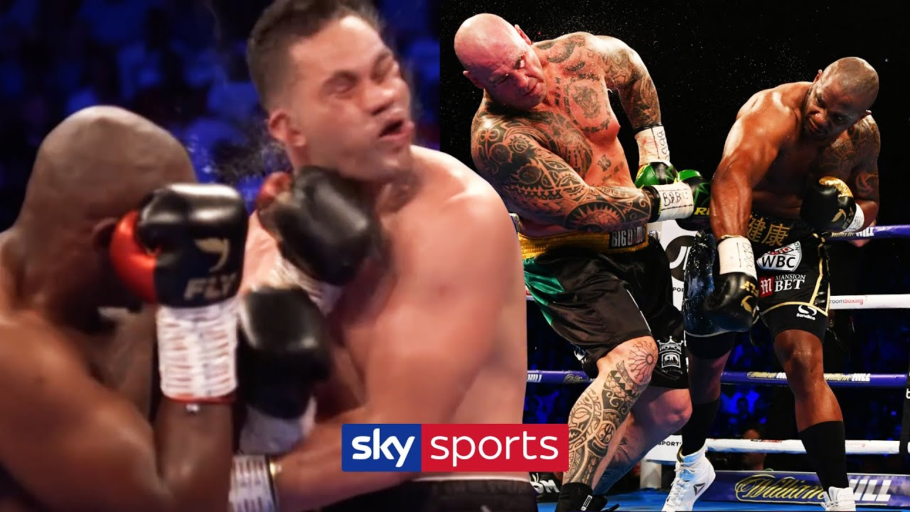 Dillian Whyte's most BRUTAL Knockouts & Knockdowns