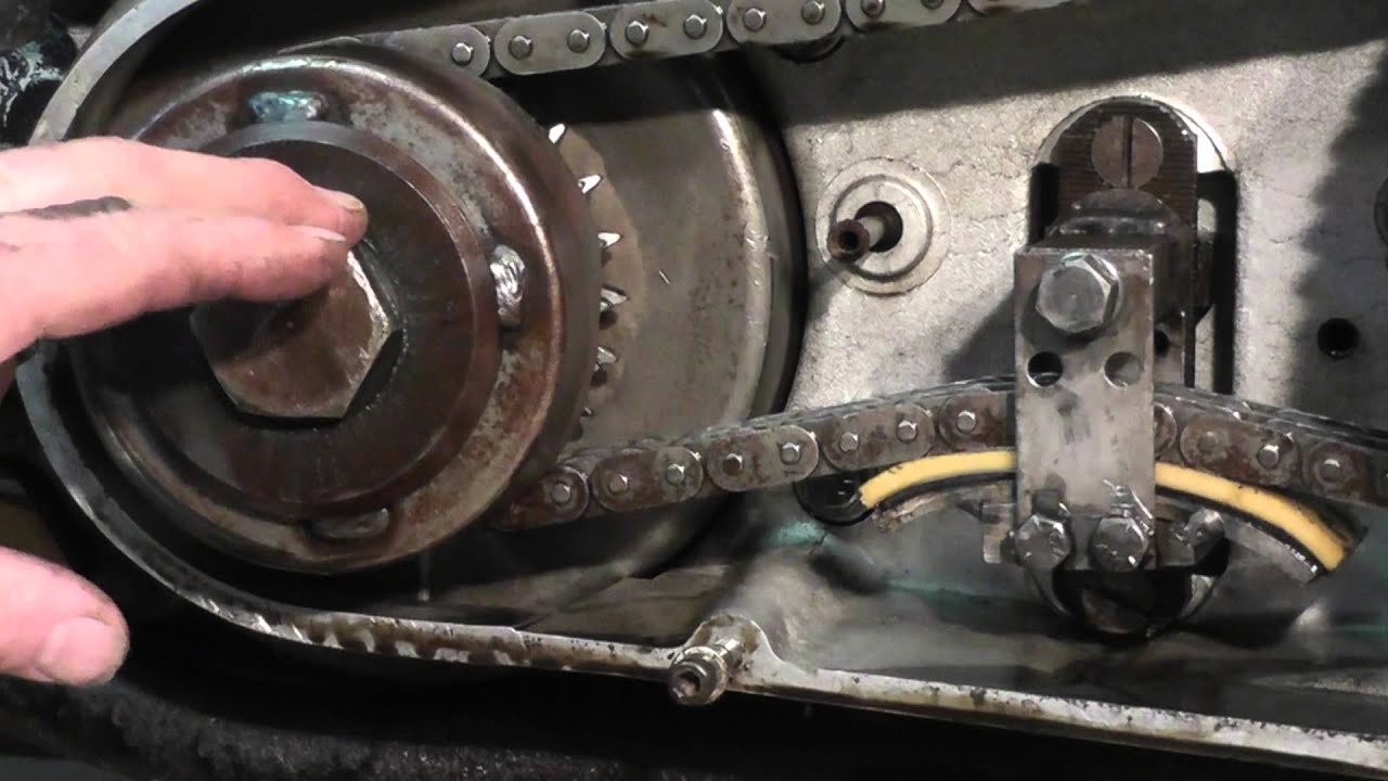 Tech Tips  Removing Engine On 1977 Harley Shovelhead  07