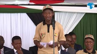 Mwala MP Vincent Kawaya's speech that won the hearts of many Kenyans during launch of Huduma Namba