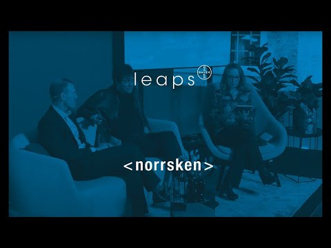 Leaps Talk #3: Max Tegmark on AI and evolution | Hacking Humans @ Norrsken | TRAILER