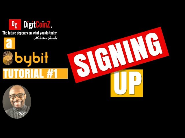Tutorial 1 - Signing Up With The ByBit Leverage Trading Platform
