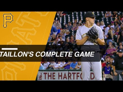 Taillon hurls complete game vs. Rockies
